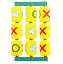 Tic Tac Toe Residential Spinner Panel for Swing Set Towers
