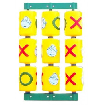 Tic Tac Toe Residential Spinner Panel for Swing Set Towers - Tic-Tac-Toe-Panel-360x365.jpg