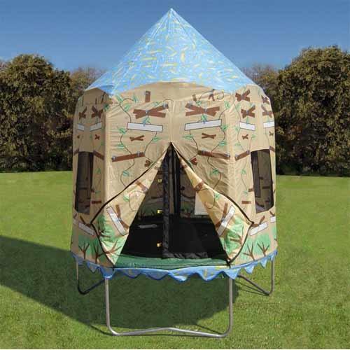 Bazoongi Kids Treehouse Tr&oline Tent ... & BAZOONGI KIDS Treehouse Trampoline Tent