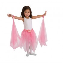 Fairy Tutu Pink With Wrist Scarves