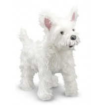 Melissa & Doug West Highland Terrier (Westie) Plush Dog