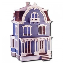 The Willowcrest Dollhouse Kit by Greenleaf Dollhouses