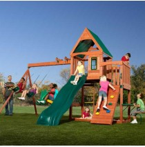 Willows Peak Wood Complete Play Set