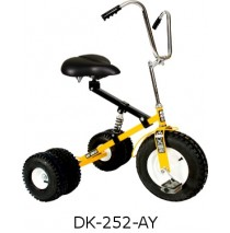 Dirt King Adult Dually Tricycle Yellow Ages 10 - Adult