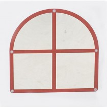Arched Windowpane Mirror by Childrens Factory