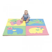Baby Love Activity Mat Pastel  by Childrens Factory