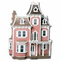 The Beacon Hill Dollhouse Kit by Greenleaf