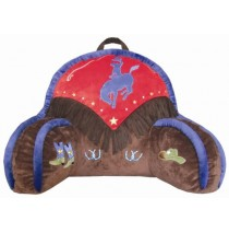 Carstens Kids Cowboy V Bedrest Pillow