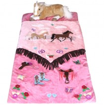 Carstens Cowgirl V Slumber Bag with Toys