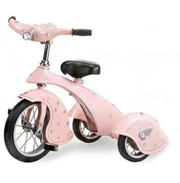 Morgan Cycle Custom Pink Crystal Retro Tricycle - crystal-360x365.jpg