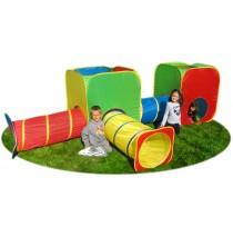 Gigatent Mega Cubes & Tubes Play Tent Combo Set