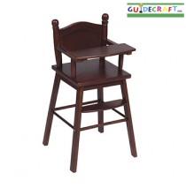 Doll High Chair- Espresso