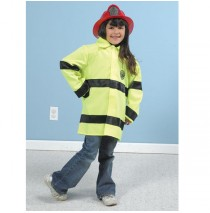 Fire Fighter Jacket Role Play Costumes By Children's Factory