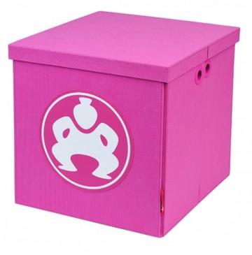 "Folding Toy Box Furniture Cube 14"" Pink - folding-furniture-cube-pink-360x365.jpg"