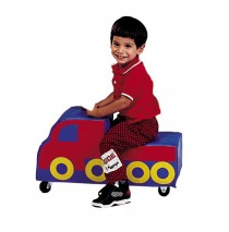 Freight Truck Ride-On Toy by The Children's Factory