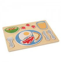 Guidecraft Sorting Food Tray - Breakfast