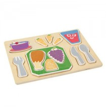 Guidecraft Sorting Food Tray - Dinner