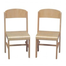 Guidecraft Woodscape Chairs Set Of Two