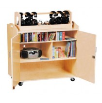 Guidecraft Media Cart