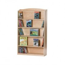 Guidecraft Single-Sided Bookcase - 60 H