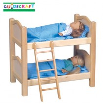 Guidecraft Doll Bunk Beds- Natural