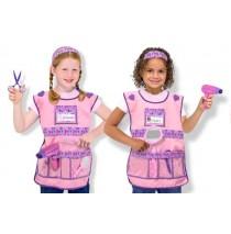 Melissa & Doug Hair Stylist Role Play Costume Set