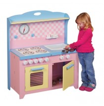 Guidecraft Hideaway Playtime Play Kitchen