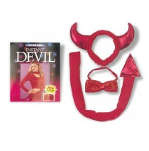 Instant Devil Accessory Kit (Adult) -One Size