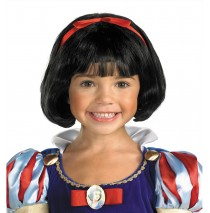Disney Snow White-Child Wig -One Size