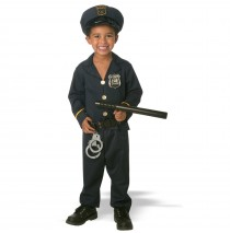 Jr. Policeman Toddler Costume -Medium (Toddler 2T)