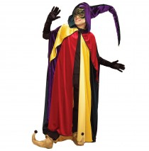 Regal Jester Hooded Cape -One Size