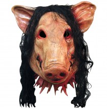 Saw Pig Head Mask -One Size