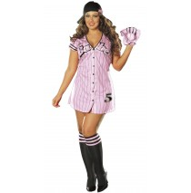 The Babe Sexy Adult Plus Costume -3X/4X