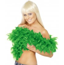 Feather Boa Emerald Green -One Size