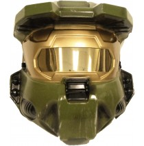 Halo 3 Master Chief 1/2 Mask Adult -One Size