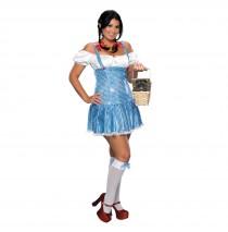 Sexy Sequin Dorothy Adult Plus Costume -Plus