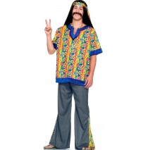 Far Out Dude Adult Plus Costume -Plus (44-48)