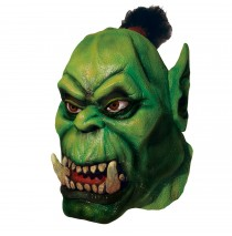 World of Warcraft - Orc Overhead Latex Mask -One-Size