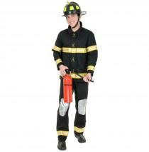Fireman Plus Adult Costume -1X