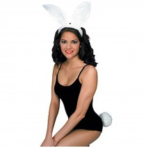 White Bunny Accessory Kit (Adult) -One-Size