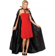 Count Cape, 56'' Black -One-Size