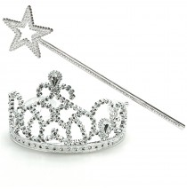 Princess Tiara & Wand Set -""