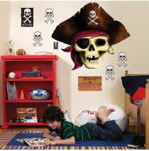 Pirates Giant Wall Decals -""