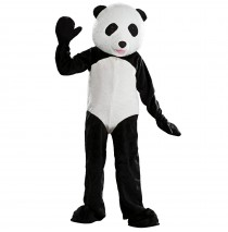 Panda Mascot Adult Costume -Standard One-Size