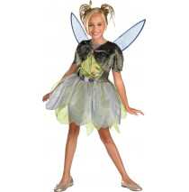 Tink and The Lost Treasures Deluxe Child Costume -Medium (7-8)