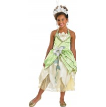 The Princess and the Frog Tiana Deluxe Toddler / Child Costume -Medium (7-8)
