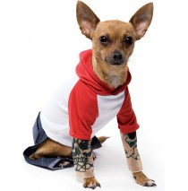 Tattoo Dog Pet Costume -Small