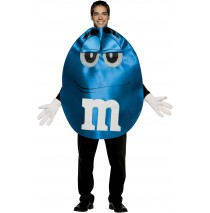 M&Ms Blue Deluxe Adult Costume -Standard