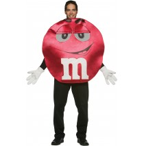 M&Ms Red Deluxe Adult Costume -Standard