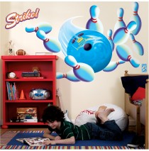 Bowling Giant Wall Decals -""